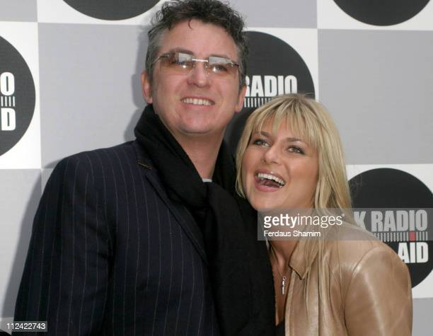 Shane Richie and guest during UK Radio Aid to Benefit Victims of the Asian Tsunami - Outside Arrivals at Capital Radio in London, United Kingdom.