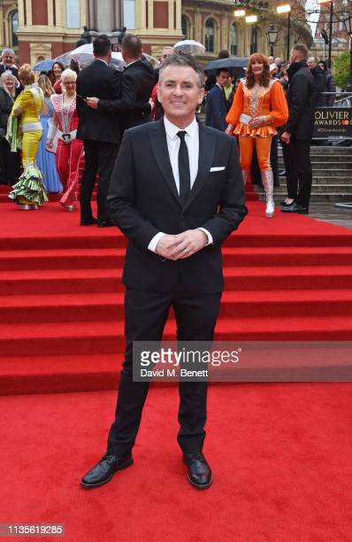 Shane Richie attends The Olivier Awards 2019 with Mastercard at The Royal Albert Hall on April 7, 2019 in London, England.