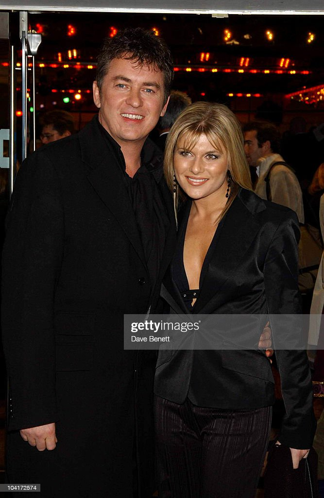Shane Richie & Girlfriend, 'Lord Of The Rings Return Of The King' Premiere, Odeon Cinema In Leicester Square, London.
