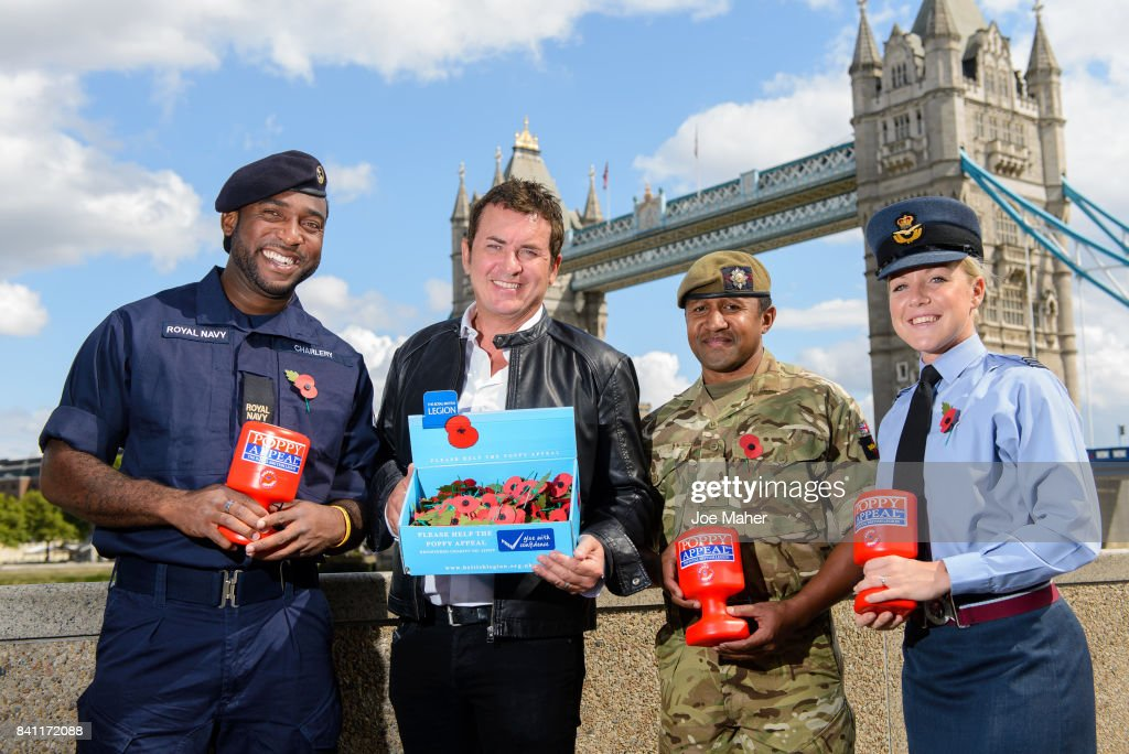 The Royal British Legion Join Forces With Shane Richie To Launch Poppy People Campaign