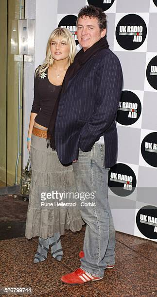 Shane Ritchie and Christie Goddard arrive at 'Radio Aid' Tsunami Fundraiser held in Leicester Square for victims of the tsunami in Asia