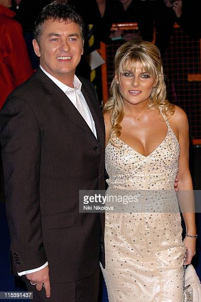 Shane Ritchie and Christie Goddard during National Television Awards 2005 at Royal Albert Hall London in London United Kingdom