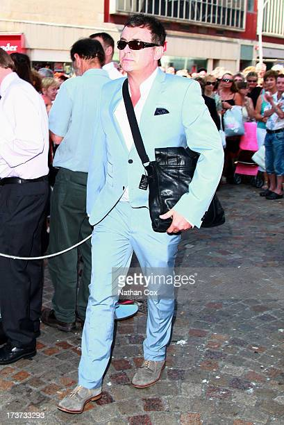 Shane Ritchie attends Bernie Nolan's funeral at Grand Theatre on July 17 2013 in Blackpool England