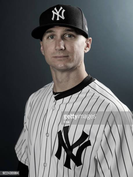 Shane Robinson of the New York Yankees poses for a portrait during the New York Yankees photo day on February 21 2018 at George M Steinbrenner Field...