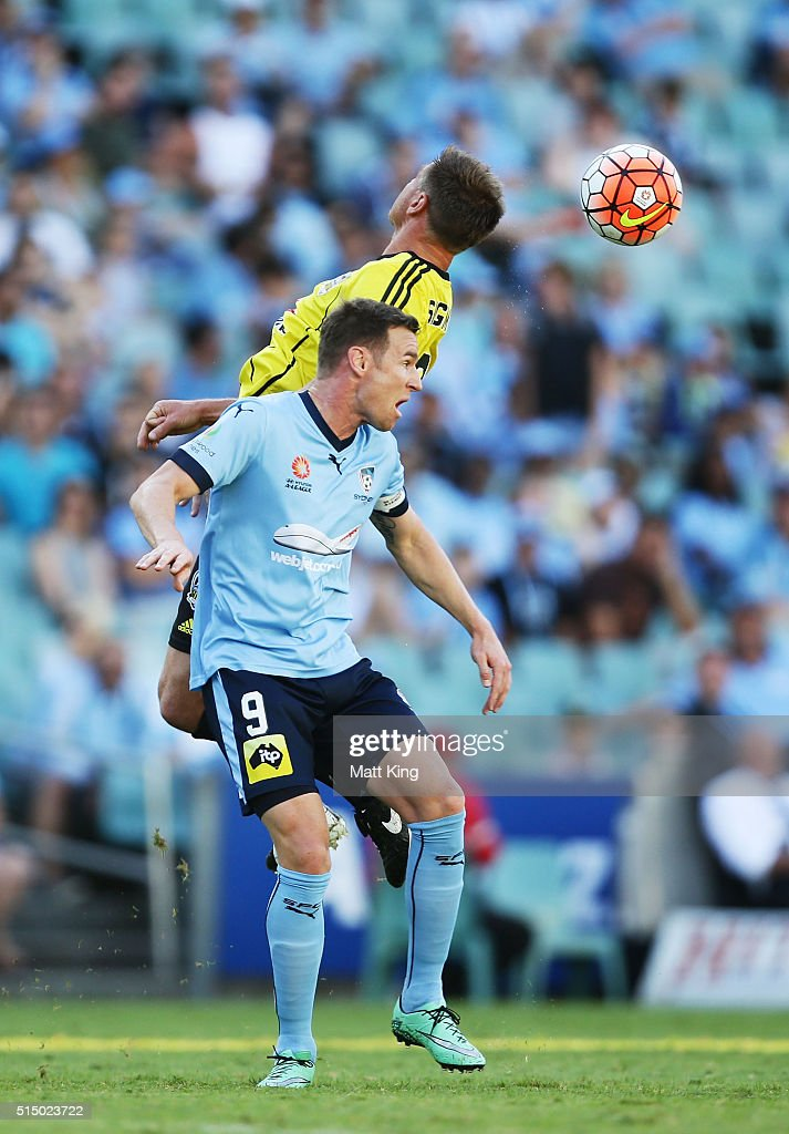 A-League Rd 23 - Sydney v Wellington