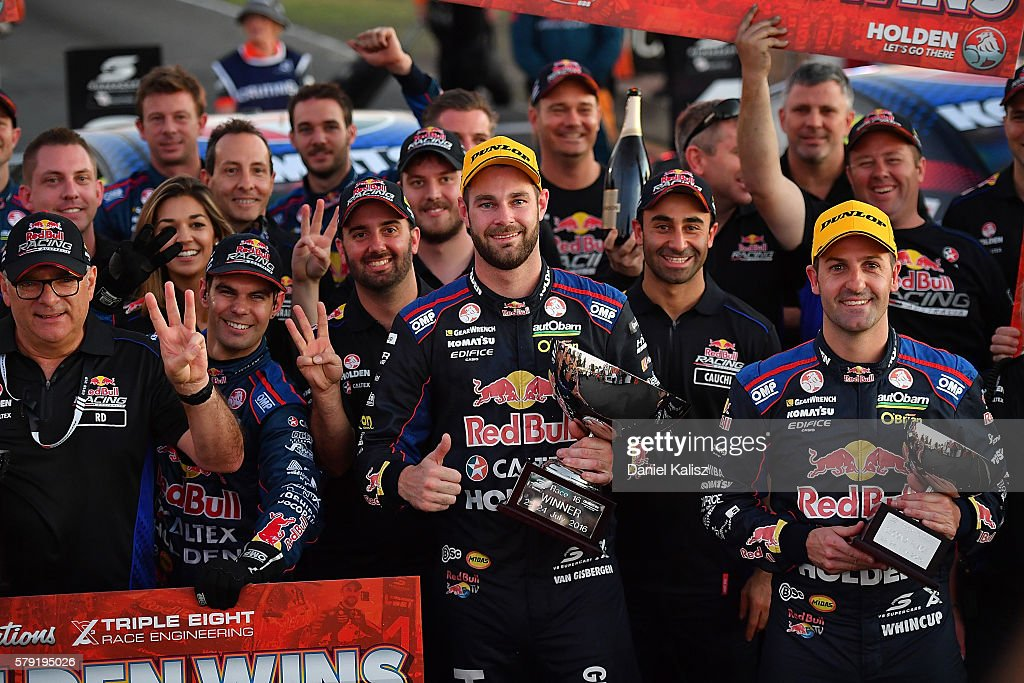 V8 Supercars Ipswich SuperSprint : News Photo