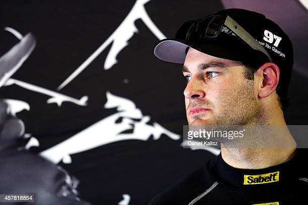 Shane van Gisbergen driver of the TEKNO VIP Petfoods Holden during the top ten shootout for the Gold Coast 600 which is round 12 of the V8 Supercars...