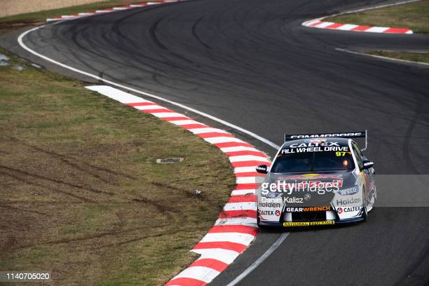 Shane van Gisbergen drives the Red Bull Holden Racing Team Holden Commodore ZBduring the Tasmania SuperSprint Supercars Championship Round at Symmons...