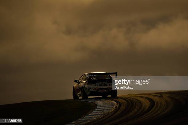 Shane van Gisbergen drives the Red Bull Holden Racing Team Holden Commodore ZB during the Phillip Island 500 as part of the Supercars Championship...