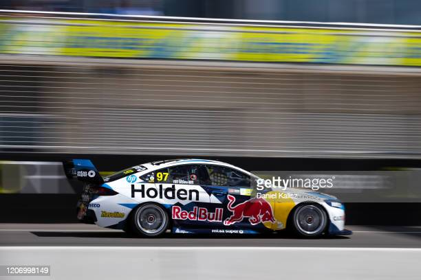 Shane van Gisbergen drives the Red Bull Holden Racing Team Holden Commodore ZB during the 2020 Supercars Test Day at Tailem Bend on February 18 2020...