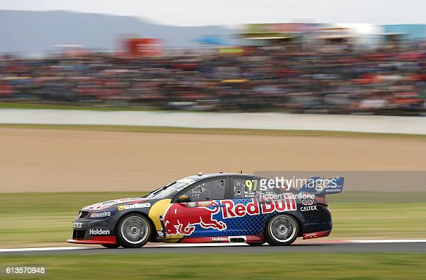 Shane van Gisbergen drives the Red Bull Racing Australia Holden during the Bathurst 1000 which is race 21 of the Supercars Championship at Mount...