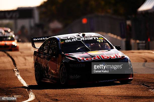 Shane Van Gisbergen drives the Red Bull Racing Australia Holden Commodore VF during race 28 for the Sydney 500 which is part of the Supercars...