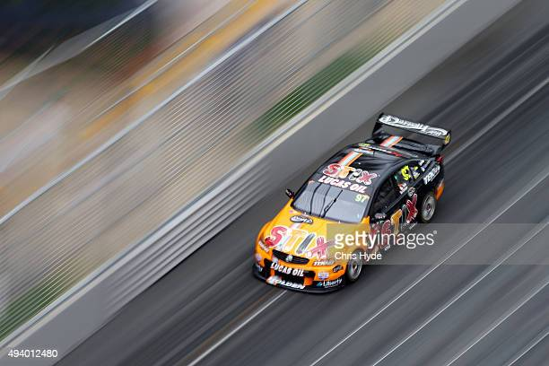 Shane van Gisbergen drives the Team TEKNO Darrell Lea Holden during Race 26 at the Gold Coast 600 which is part of the V8 Supercars Championship at...