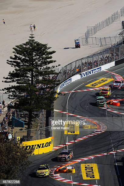 Shane van Gisbergen drives the TEKNO VIP Petfoods Holden during race 31 for the Gold Coast 600 which is round 12 of the V8 Supercars Championship...