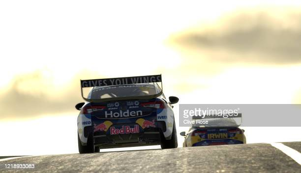Shane van Gisbergen driving the Red Bull Holden Racing Team Holden Commodore ZB in Race 5 during round 2 of the Supercars All Stars Eseries at...