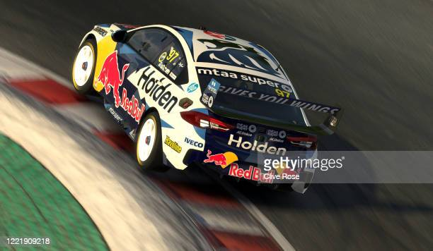 Shane van Gisbergen driving the Red Bull Holden Racing Team Holden Commodore ZB during round 4 of the Supercars All Stars Eseries at Circuit Gilles...