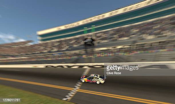 Shane van Gisbergen driving the Red Bull Holden Racing Team Holden Commodore ZB in action during round 7 of the Supercars All Stars Eseries at...