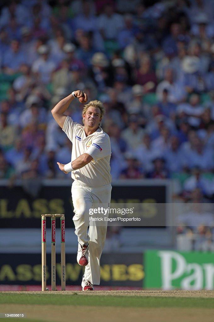 England v Australia, 5th Test, The Oval, Sep 05 : News Photo