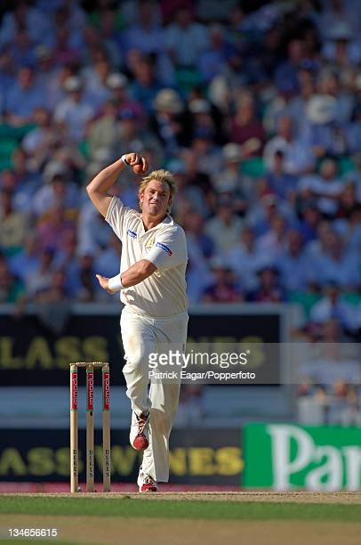 Shane Warne, England v Australia, 5th Test, The Oval, Sep 05.