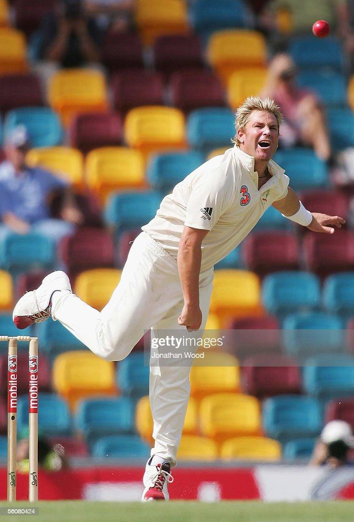 1st Test - Australia v West Indies - Day 2 : News Photo
