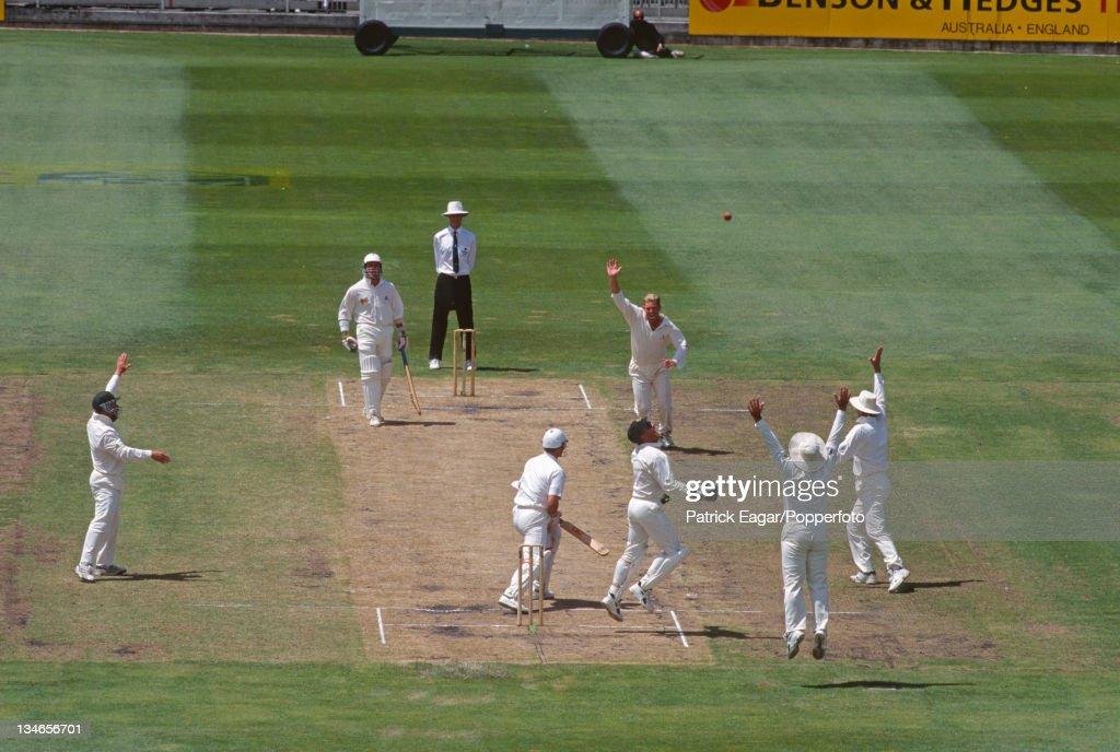 Australia v England, 2nd Test , Melbourne, December 1994-95 : ニュース写真