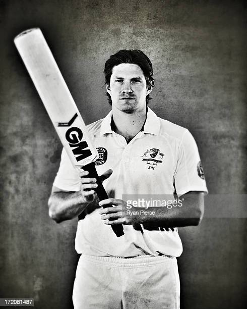 Shane Watson of Australia poses on July 1 2013 in Worcester England