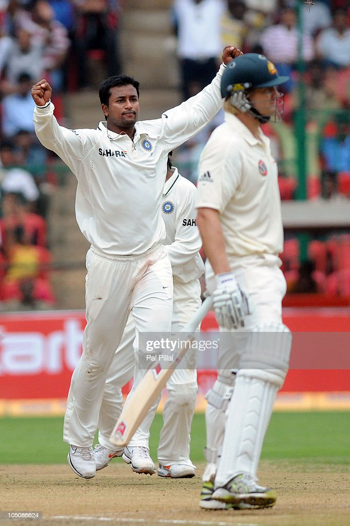 India v Australia - Second Test: Day One