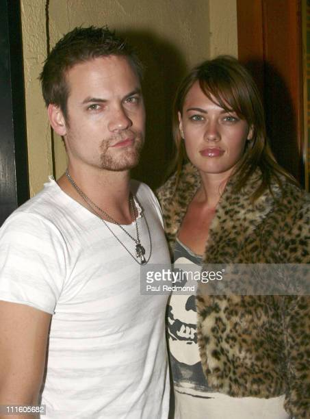 Shane West and CC Sheffield during 'American Hardcore' Premiere September 20 2006 at THe Vista Theater in Los Angeles California United States