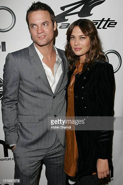 Shane West and CC Sheffield during BPM Magazine MySpace Guide to LA Issue Release Party at Element in Hollywood CA United States