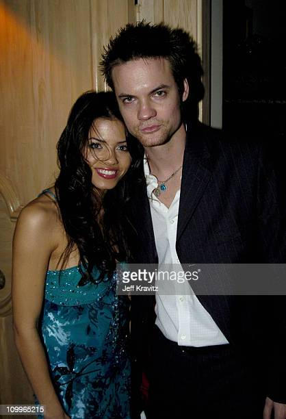 Shane West and Jena Dewan during HBO Golden Globe Awards Party Inside at Beverly Hills Hilton in Beverly Hills California United States