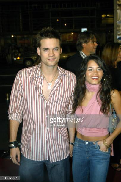 Shane West and Jena Dewan during 'Texas Chain Saw Massacre' Hollywood Premiere at Mann's Chinese Theater in Hollywood California United States
