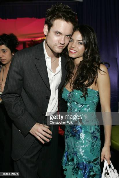Shane West and Jenna Dewan during Instyle/Warner Bros Golden Globe Awards Post Party Inside at Beverly Hills Hilton in Beverly Hills California...