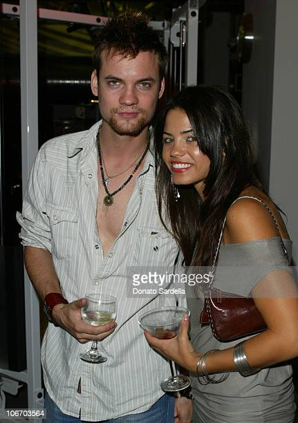 Shane West and Jenna Dewan during Opening of the 1st Los Angeles Equinox Fitness Club to Benefit the Rainforest Foundation and Futureforests at...
