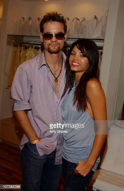 Shane West and Jenna Dewan during Yana K Store Opening at Yana K Store in Los Angeles California United States