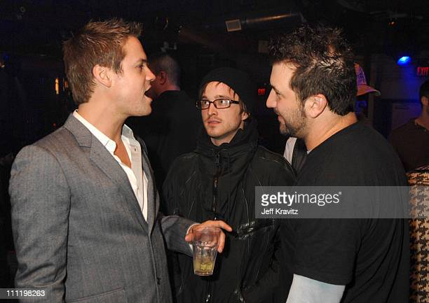 Shane West and Joey Fatone during BPM Magazine MySpace Guide to LA Issue Release Party at Element in Hollywood California United States