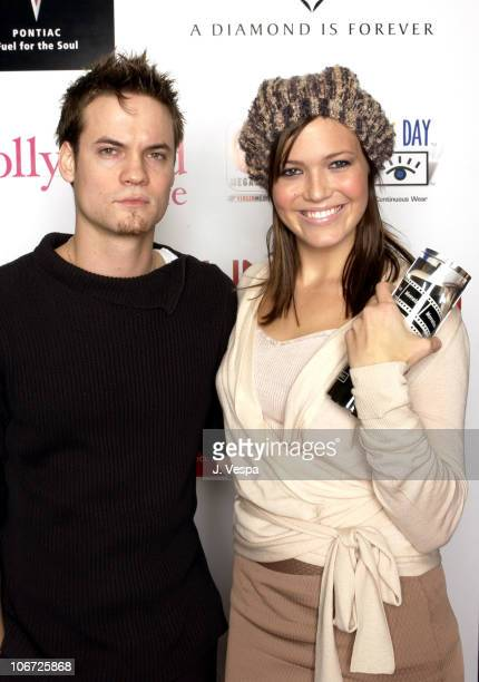 Shane West and Mandy Moore during AMC & Movieline's Hollywood Life Magazine's Young Hollywood Awards - Portrait Gallery at El Rey Theatre in Los...