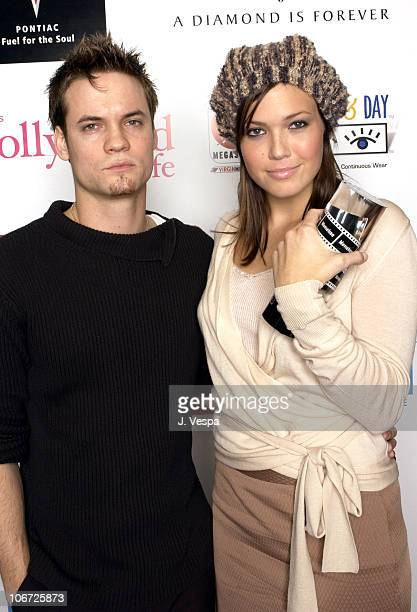 Shane West and Mandy Moore during AMC Movieline's Hollywood Life Magazine's Young Hollywood Awards Portrait Gallery at El Rey Theatre in Los Angeles...