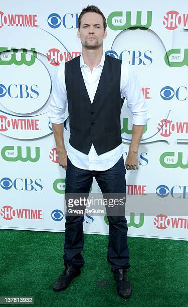 Shane West arrives at the CBS The CW Showtime Summer Press Tour Party held at The Tent on July 28 2010 in Beverly Hills California
