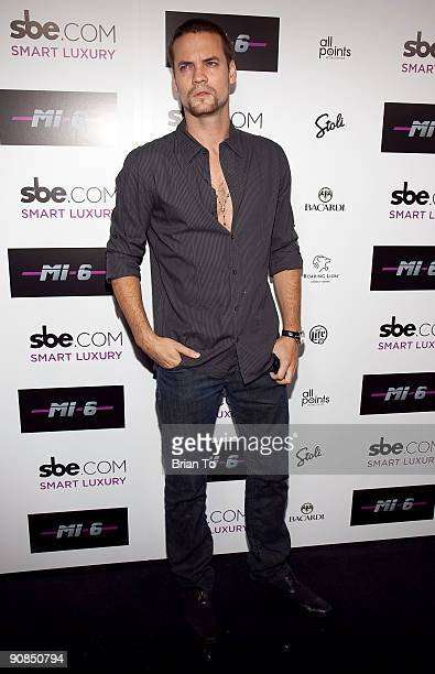 Shane West attends Mi6 Nightclub Grand Opening Party on September 15 2009 in West Hollywood California