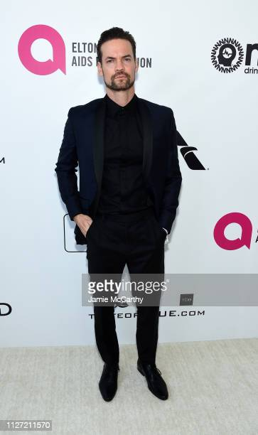 Shane West attends the 27th annual Elton John AIDS Foundation Academy Awards Viewing Party sponsored by IMDb and Neuro Drinks celebrating EJAF and...