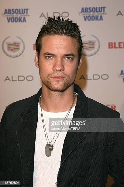 Shane West during Blender Celebrates First Annual Rock Roll Hollywood Issue Arrivals at Private Residence in Hollywood California United States