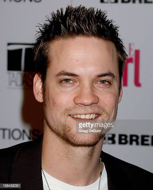 Shane West during ELLEGIRL's 1st Annual Hollywood Prom Arrivals at Hollywood Athletic Club in Hollywood California United States