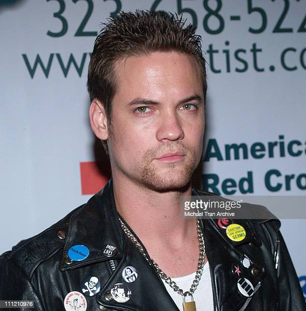 Shane West during Hardball Presents Ed Hardy Katrina Relief Party Arrivals at Cabana Club in Los Angeles California United States