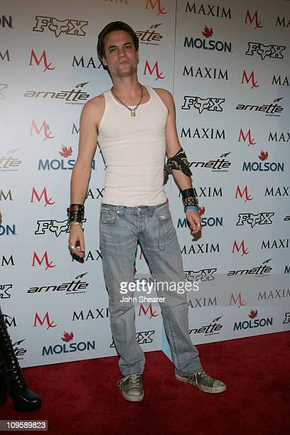 Shane West during Maxim Magazine Celebrates The 2005 XGames at Cabana Club in Los Angeles California United States