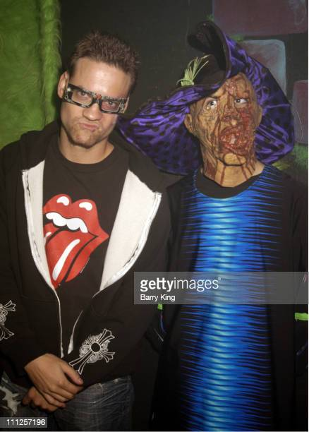 Shane West during The Stars of ER Visit Knott's Scary Farm's 33rd Annual Halloween Haunt at Knott's Berry Farm in Buena Park California United States