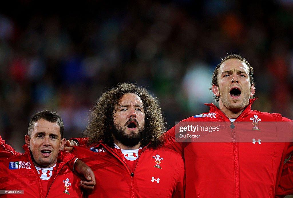 South Africa v Wales - IRB RWC 2011 Match 8 : News Photo