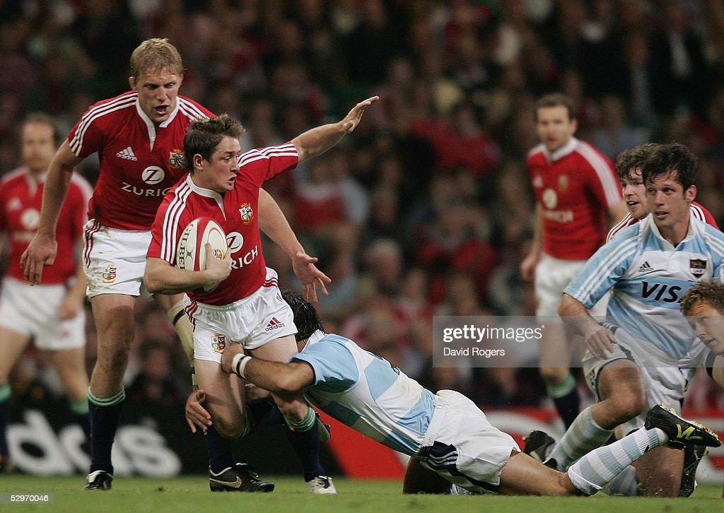 British & Irish Lions v Argentina : News Photo