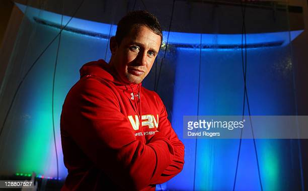 Shane Williams of Wales poses during a Wales IRB Rugby World Cup 2011 media session at Sky City on October 10 2011 in Auckland New Zealand