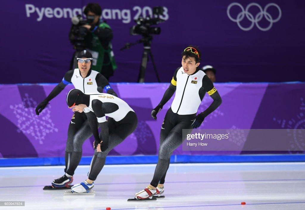 Speed Skating - Winter Olympics Day 12 : News Photo