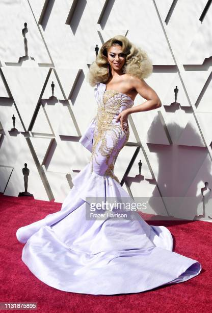 Shangela attends the 91st Annual Academy Awards at Hollywood and Highland on February 24 2019 in Hollywood California